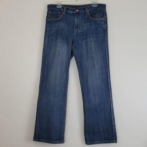 "Alfani Straight Leg Blue Jeans  32"" X 30"""